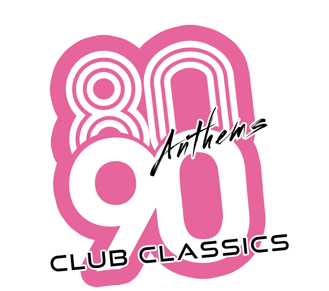 80s Anthems vs 90s Club Classics Logo
